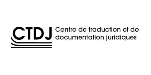 Centre de traduction et de documentation juridiques (CTDJ)